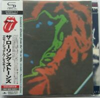 Rolling Stones - Emotional Rescue Japan MLPS SHM CD UICY-94577 NEU First Edition