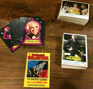 1978 Battlestar Galactica Trading Card Collection-Your Choice of Sets or Singles