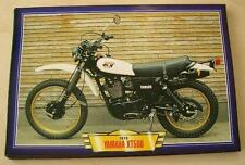 YAMAHA XT500 XT 500 VINTAGE MOTORCYCLE TRAIL BIKE 1970'S PRINT PICTURE 1978