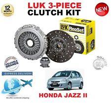 für Honda Jazz II GD1 1.3 2002-2008 83 BHP ORIGINAL LUK 3-tlg. Kupplungssatz