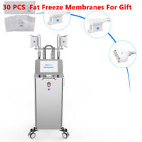 Stand 3Handles Vacuum Cooling Fat Freeze Cellulite Removal Body Slimming Machine