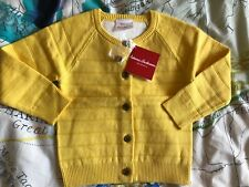Hanna Andersson New NWT 100 4T Yellow Sweater Cardigan Jumper