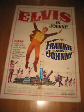 Frankie and Johnny Original 1sh Movie Poster