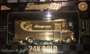 SEALED: 1999 SNAP-ON 24K GOLD PLATED RACING CHAMPIONS LIMITED EDITION 1 of 1500