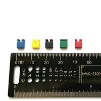 2.54mm Jumper Links, Various Colours, Ideal for Arduino & Raspberry PI UK Seller