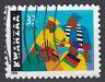 USA Briefmarke gestempelt 33c Kwanzaa Jahrgang 1999 / 548