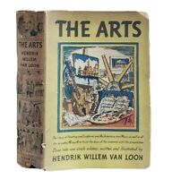 The Arts by Hendrik Willem Van Loon Vintage 1937 HCDJ Illustrated 1st Edition