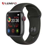 Lemfo Reloj inteligente Llamada Bluetooth Smart Watch Smartband Para Android iOS