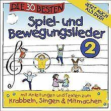 Die 30 besten Spiel-und Bewegungslieder 2 - Kinderlieder u... | CD | Zustand gut