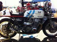 CB750 SOHC  HEAT SHIELD HONDA YOSHI  GOLD RACE SUPERBIKE DYMAG CB CB750K CB750F