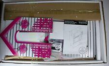 Puppenhaus Puppenstube rosa Kinderspielzeug 83 x 41 x 121 cm Zubehör B-WARE
