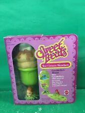 "SWEET TREATS ICE CREAM SUNDAES ""CARA MELLIE'S HOUSE 1979 NRFB"