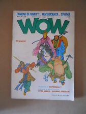 WOW Fanzine di fumetti n°13 1977 Speciale SUPERGULP - Tenius Di Marzio  [G731]