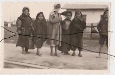 New listing Holocaust Old Photo Original Wwii Gypsy Children. Romania