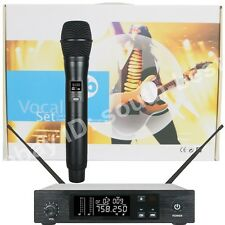 MICWL D100 UHF Wireless Microphone Performance System - Handheld Mic Transmitter