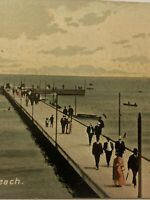 Vintage Postcard, The Pier 1908 Winnipeg Manitoba Canada P85
