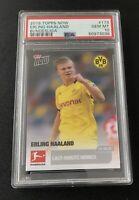 2019 Topps Now Erling Haaland Bundesliga BVB #173 Rookie 🔥 PSA 10 Gem Mint 🔥