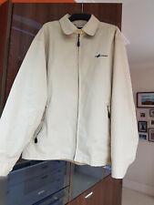 """Firetrap"" Mens Cream Summer Zip Jacket - Large"