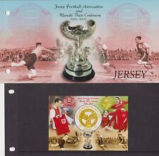 JERSEY PRESENTATION PACK 2005 JERSEY FOOTBALL II CENTENARY OF ASSOCIATION JFA