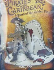 Disney DLR - Pirates of the Caribbean - Skeleton with Swords Pin