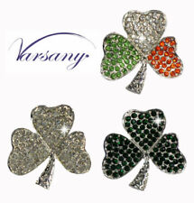 Crystal Crystal Diamante Costume Brooches & Pins