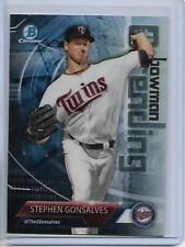 2018 Bowman Stephen Gonsalves Chrome Bowman Trending Insert Card