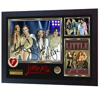 Little Mix lm5 LM5 R&B Music signed autographed photo print LITTLE MIX Framed