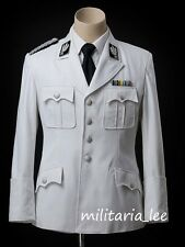 WW2 Repro German Officer White Cotton M32 Tunic All Sizes