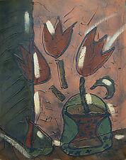 Bohumil Samuel KECIR (1904-1987) Blumen Nr. a10