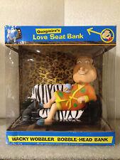 FUNKO FAMILY GUY FIGURE QUAGMIRE LOVE SEAT BANK WACKY WOBBLER BOBBLE HEAD DENTED