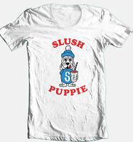 Slush Puppy T shirt retro 80's vintage 100% cotton graphic printed  tee