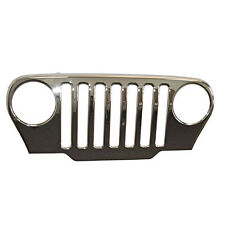 1997-2006 Jeep Wrangler TJ Chrome Grille Overlay Kit
