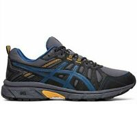 Men's Asics GEL-VENTURE 7 1011A560-020 Grey/Black Lace-Up Trail Running Shoes