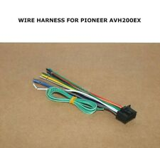 NEW 16 PIN WIRE HARNESS PLUG FOR PIONEER AVH200EX AVH-200EX *SHIPS TODAY*