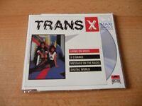 Maxi CD Trans X - Living on Video - 80s Kult HIT