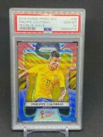 Philippe Coutinho Red Blue Wave PSA 10 2018 Panini Prizm World Cup Soccer #28