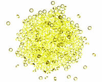 8mm YELLOW Scatter Crystals Table Confetti Wedding Decorations Diamond Gems