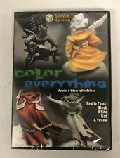 Color Everything DVD MiniWar Gaming How to Paint NEW Free Shipping