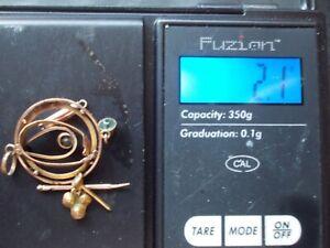 Scrap Gold   375    2.1 grams
