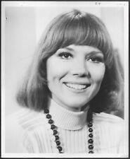 ~ Diana Rigg of The Avengers Original 1960s Stamped Promo Press Portrait Photo