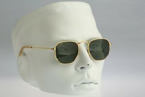 Ray Ban B&L W0980 WRAV Hexagonal - 90s top quality Bausch and Lomb lenses / NOS