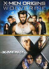 X-MEN ORIGINS WOLVERINE XMEN 2 DVD REGION 2 NEW SEALED