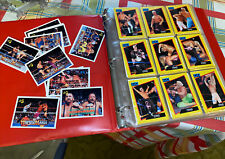 Vintage Lot Of Over 300 Mix Classic Cards WCW/WF Wrestling Trading Cards