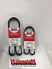 Bando OEM 2-Drive Belt Kit AC-PWR-ALT V6; 3.5L; VQ35DE Eng.- 4PK945 - 6PK1175/80