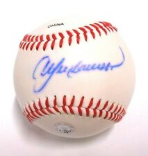 Andre Dawson MLB Authentic Hologram Signed Auto Autographed Ball Baseball HOFer