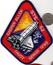 NASA Space Ship Patch Shuttle Flight Astronaut Mission STS-62 CASPER ALLEN THUOT