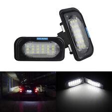 LED Éclairage Lumière de Plaque immatriculation Pour Mercedes-Benz Classe C W203
