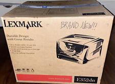 Lexmark E352dn Workgroup Laser Printer