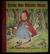 LITTLE RED RIDING HOOD-RAPHAEL TUCK & SONS LTD-H/B-£3.25 UK POST