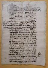 España Perú español colonial Granja Hacienda notarial venta contrato manuscrito 1808